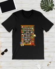 BOOK SPACE Classic T-Shirt lifestyle-mens-crewneck-front-17