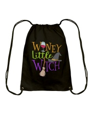 WINEY LITTLE WITCH Drawstring Bag thumbnail