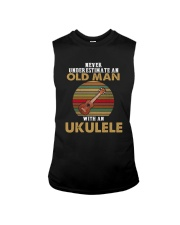 OLD MAN VINTAGE UKULELE Sleeveless Tee thumbnail