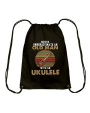 OLD MAN VINTAGE UKULELE Drawstring Bag thumbnail