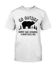 CAMPING GO OUTSIDE Classic T-Shirt thumbnail
