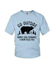 CAMPING GO OUTSIDE Youth T-Shirt thumbnail