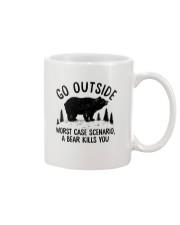CAMPING GO OUTSIDE Mug thumbnail