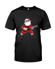 SANTA PLAY GUITAR Classic T-Shirt front