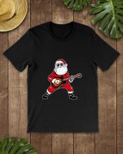 SANTA PLAY GUITAR Classic T-Shirt lifestyle-mens-crewneck-front-18
