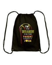 SOFTBALL REASON PARENT Drawstring Bag thumbnail