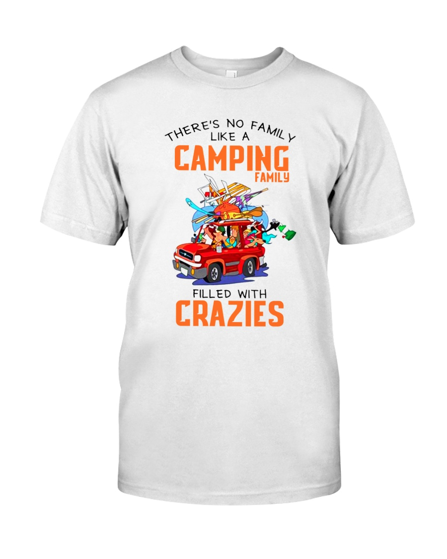 CAMPING CRAZIES FAMILY Classic T-Shirt