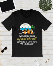 CAMPING NEED FRIEND Classic T-Shirt lifestyle-mens-crewneck-front-17