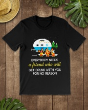 CAMPING NEED FRIEND Classic T-Shirt lifestyle-mens-crewneck-front-18