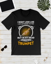 IN MY HEART TRUMPET Classic T-Shirt lifestyle-mens-crewneck-front-17