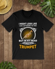 IN MY HEART TRUMPET Classic T-Shirt lifestyle-mens-crewneck-front-18