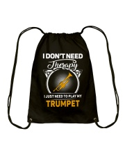 TRUMPET THERAPY Drawstring Bag thumbnail
