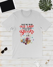 OLD LADY BOOK Classic T-Shirt lifestyle-mens-crewneck-front-17