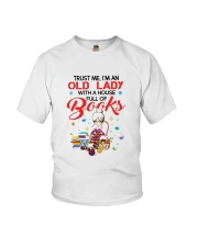 OLD LADY BOOK Youth T-Shirt thumbnail
