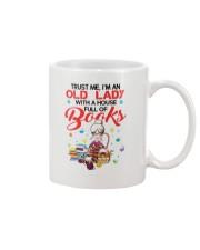 OLD LADY BOOK Mug thumbnail