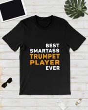 BEST SMARTASS TRUMPET PLAYER Classic T-Shirt lifestyle-mens-crewneck-front-17