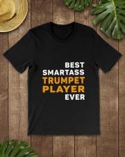 BEST SMARTASS TRUMPET PLAYER Classic T-Shirt lifestyle-mens-crewneck-front-18