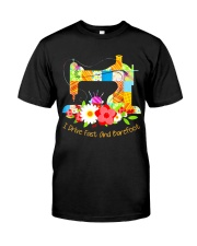 SEWING BAREFOOT Classic T-Shirt front