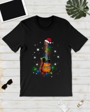 MERRY CHRISTMAS GUITAR Classic T-Shirt lifestyle-mens-crewneck-front-17
