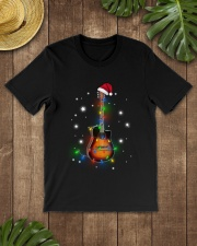 MERRY CHRISTMAS GUITAR Classic T-Shirt lifestyle-mens-crewneck-front-18