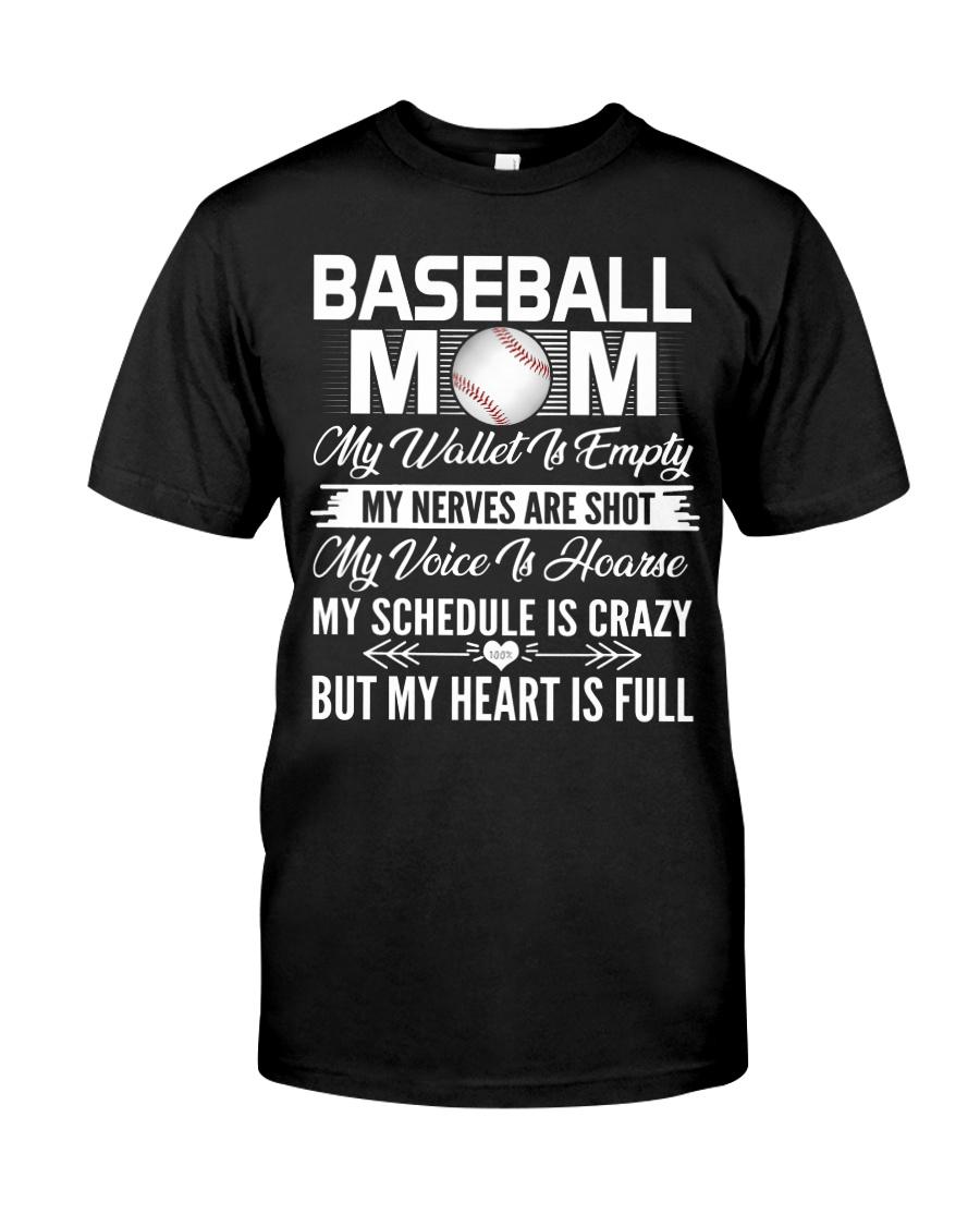 BASEBALL MOM FULL Classic T-Shirt
