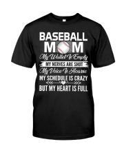 BASEBALL MOM FULL Classic T-Shirt front