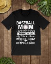 BASEBALL MOM FULL Classic T-Shirt lifestyle-mens-crewneck-front-18