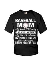 BASEBALL MOM FULL Youth T-Shirt thumbnail