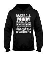 BASEBALL MOM FULL Hooded Sweatshirt thumbnail