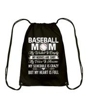 BASEBALL MOM FULL Drawstring Bag thumbnail