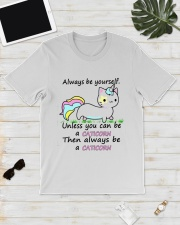 ALWAYS BE A CATICORN Classic T-Shirt lifestyle-mens-crewneck-front-17