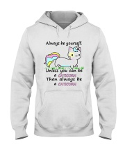 ALWAYS BE A CATICORN Hooded Sweatshirt thumbnail