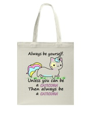 ALWAYS BE A CATICORN Tote Bag thumbnail