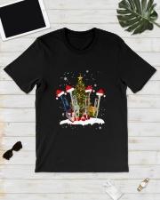 TREE CHRISTMAS TRUMPET Classic T-Shirt lifestyle-mens-crewneck-front-17