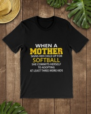 MOTHER SOFTBALL Classic T-Shirt lifestyle-mens-crewneck-front-18