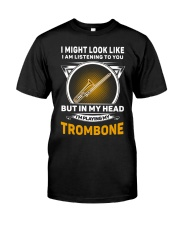 IN MY HEART TROMBONE Classic T-Shirt front