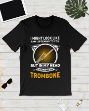 IN MY HEART TROMBONE Classic T-Shirt lifestyle-mens-crewneck-front-17