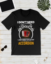MY THERAPY ACCORDION Classic T-Shirt lifestyle-mens-crewneck-front-17