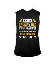 A GRUMPY OLD UPRIGHT BASS Sleeveless Tee thumbnail