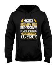 A GRUMPY OLD UPRIGHT BASS Hooded Sweatshirt thumbnail