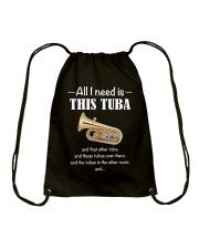 ALL I NEED TUBA Drawstring Bag thumbnail
