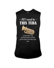 ALL I NEED TUBA Sleeveless Tee thumbnail