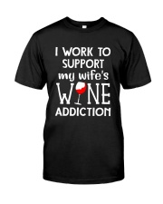 WIFE WINE ADDITION Classic T-Shirt thumbnail