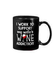 WIFE WINE ADDITION Mug thumbnail