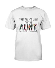 AUNT COOL AND FAVORITE Classic T-Shirt front