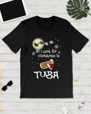 AII I WANT CHRISTMAS IS TUBA Classic T-Shirt lifestyle-mens-crewneck-front-17