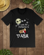 AII I WANT CHRISTMAS IS TUBA Classic T-Shirt lifestyle-mens-crewneck-front-18