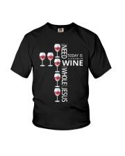 WINE JS Youth T-Shirt thumbnail
