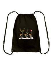 THREE CHRISTMAS TROMBONE Drawstring Bag thumbnail