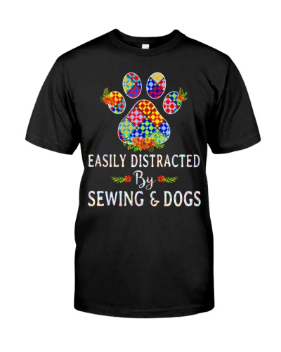 SEWING AND DOGS